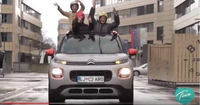 Cilkin frej vikend in sladki trenutki s Citroënom C3 Aircross