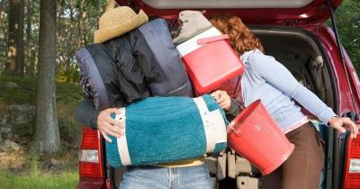 6 trikov, kako spakirati za večjo družino